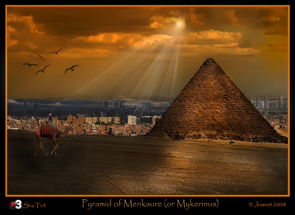 Piramide di Menkaure - Egitto