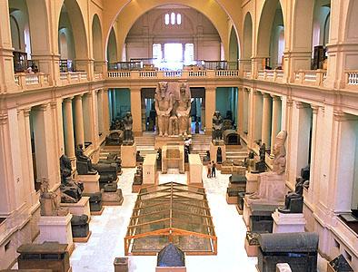 Cairo - Museo Egizio - Interno