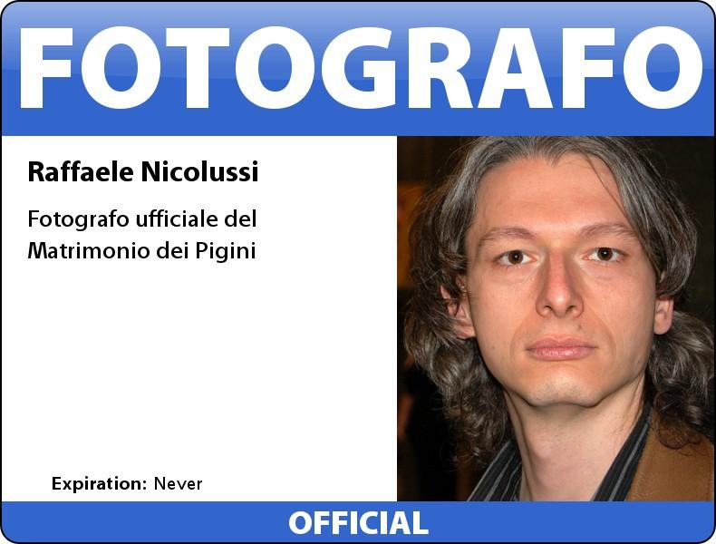 fotografo ufficiale