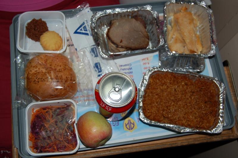 Cena sul treno per Luxor