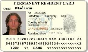 Green Card di MadGrin