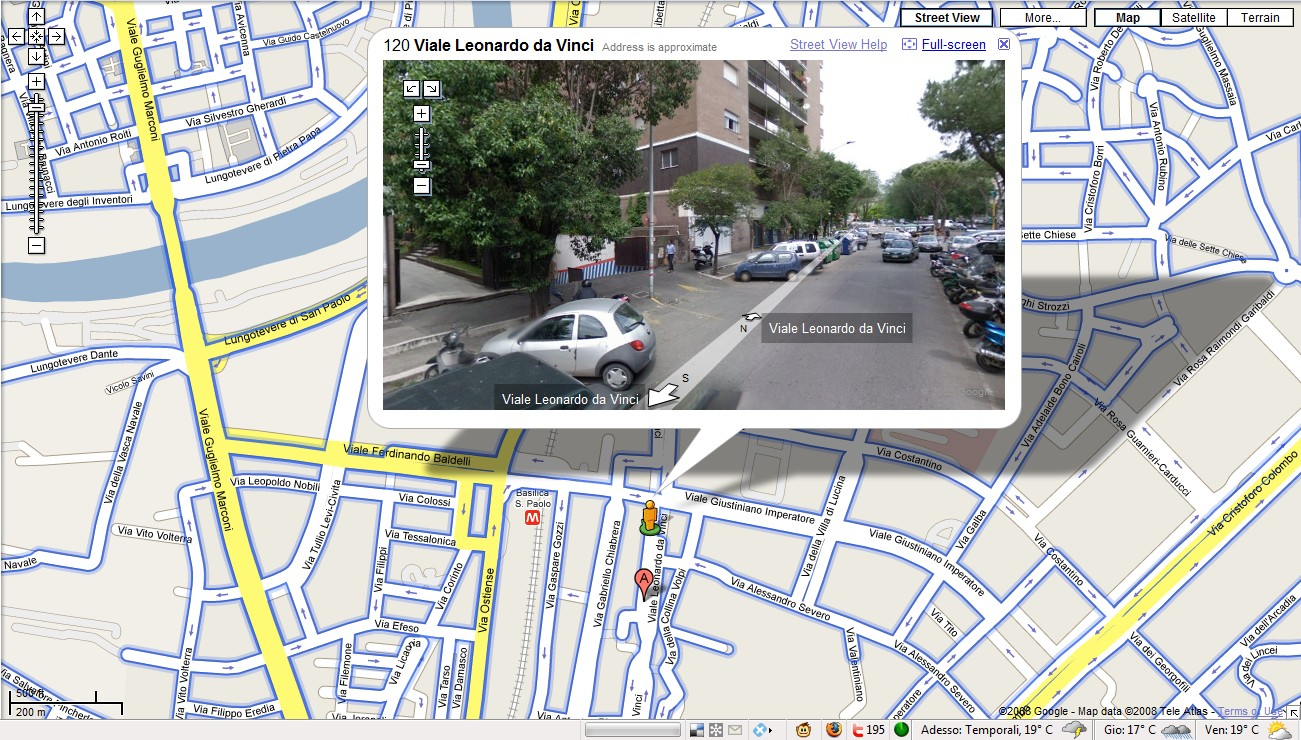 Google Street View a casa di MadGrin