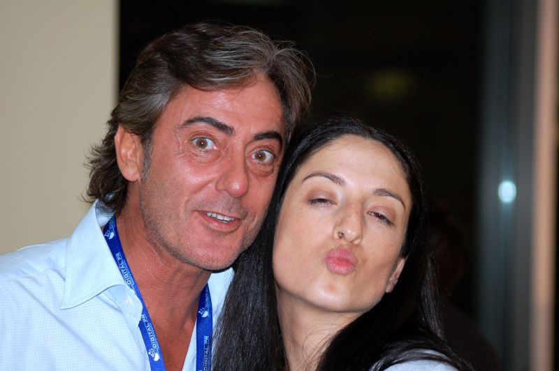 Poca-Cola e Dottoressa Dania al RomeCamp2008