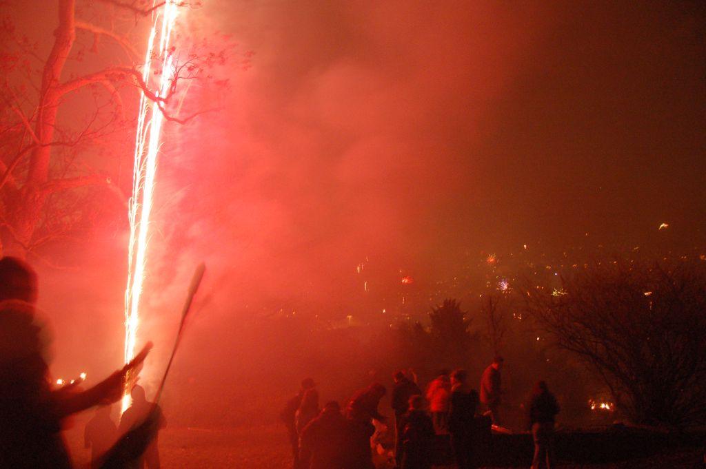 Fuochi di artificio a Stoccarda