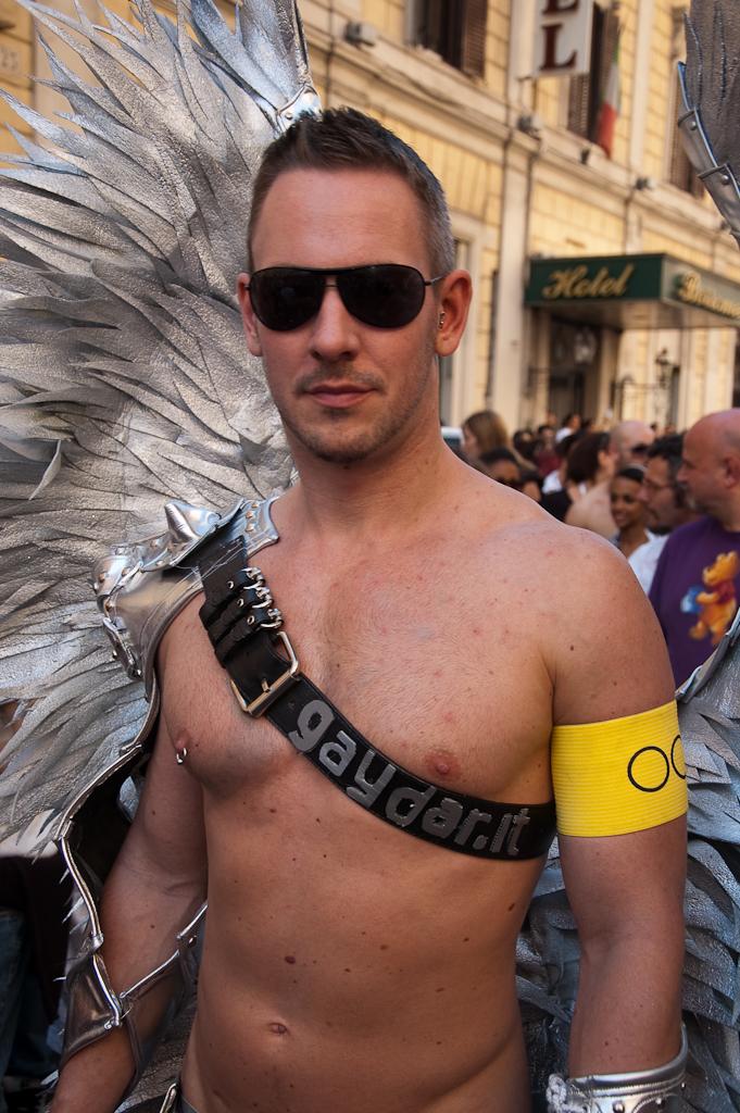 Angelo del Roma Pride 2009