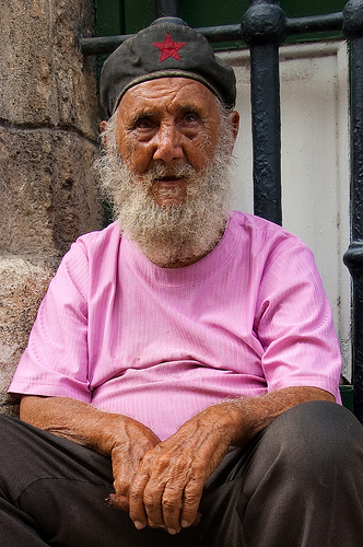 vecchietto cubano della copertina della Lonely Planet
