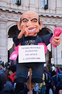 NO-B Day - Berlusconi pallone gonfiato