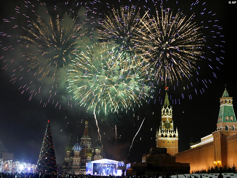 NewYear - Moscow fireworks