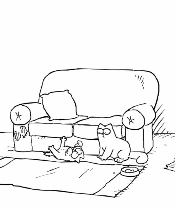 Simon's Cat in Double Trouble