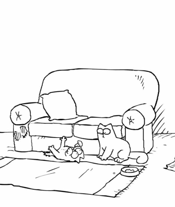 Simon's Cat in Double Trouble