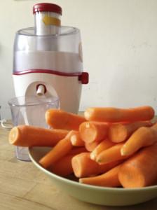 Ghiacciolo alla carota