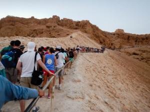 Processionaria di nostro signore Gesù @ Masada (Israele)